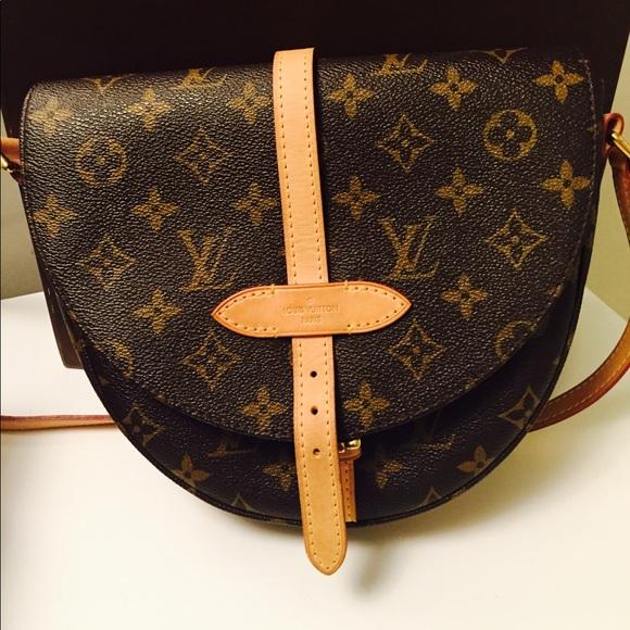 42b2a02199c8 Louis Vuitton Handbags - Louis Vuitton Half Moon Monogram Bag